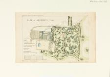 Plan parku w Miechowicach