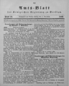Amts-Blatt der Königlichen Regierung zu Breslau, 1889, Bd. 80, St. 44