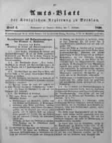 Amts-Blatt der Königlichen Regierung zu Breslau, 1890, Bd. 81, St. 6