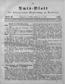 Amts-Blatt der Königlichen Regierung zu Breslau, 1890, Bd. 81, St. 30