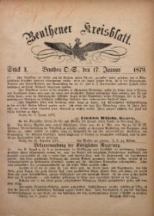 Beuthener Kreisbatt, 1879, St. 3