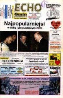 Echo Gmin : tygodnik regionalny 2001, nr 7 (180).
