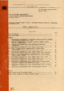 Pogłowie zwierząt gospodarskich w indywidualnych gospodarstwach rolnych w czerwcu 1984 r.