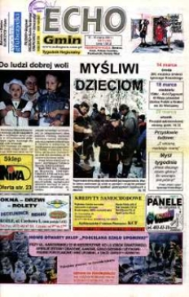 Echo Gmin : tygodnik regionalny 2001, nr 11 (184).