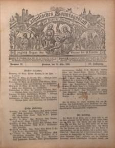 Katholisches Sonntagsblatt der Diöcese Breslau, 1898, Jg. 4, nr 12