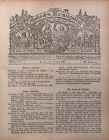 Katholisches Sonntagsblatt der Diöcese Breslau, 1898, Jg. 4, nr 24