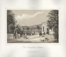 Die Elisenhalle in Salzbrunn. Hala Elizy (hala spacerowa) w Szczawnie-Zdroju