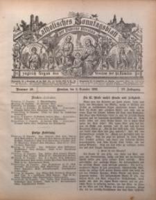 Katholisches Sonntagsblatt der Diöcese Breslau, 1898, Jg. 4, nr 50