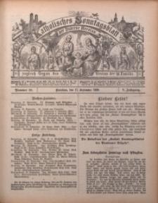 Katholisches Sonntagsblatt der Diöcese Breslau, 1899, Jg. 5, nr 38