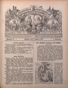 Katholisches Sonntagsblatt der Diöcese Breslau, 1899, Jg. 5, nr 39