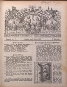 Katholisches Sonntagsblatt der Diöcese Breslau, 1899, Jg. 5, nr 41