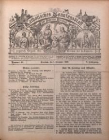 Katholisches Sonntagsblatt der Diöcese Breslau, 1899, Jg. 5, nr 45