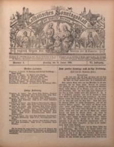Katholisches Sonntagsblatt der Diöcese Breslau, 1900, Jg. 6, nr 2
