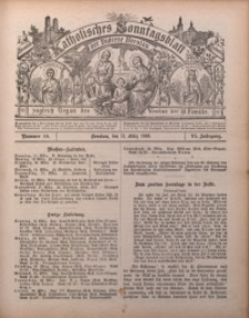 Katholisches Sonntagsblatt der Diöcese Breslau, 1900, Jg. 6, nr 10