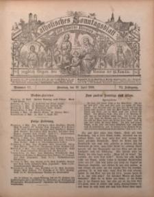 Katholisches Sonntagsblatt der Diöcese Breslau, 1900, Jg. 6, nr 17
