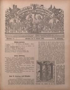 Katholisches Sonntagsblatt der Diöcese Breslau, 1900, Jg. 6, nr 41