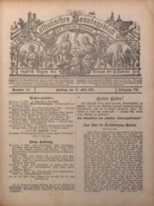 Katholisches Sonntagsblatt der Diöcese Breslau, 1901, Jg. 7, nr 12