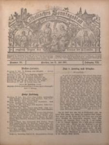 Katholisches Sonntagsblatt der Diöcese Breslau, 1901, Jg. 7, nr 29