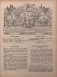 Katholisches Sonntagsblatt der Diöcese Breslau, 1901, Jg. 7, nr 38