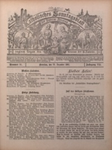 Katholisches Sonntagsblatt der Diöcese Breslau, 1901, Jg. 7, nr 51