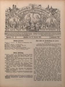 Katholisches Sonntagsblatt der Diöcese Breslau, 1901, Jg. 7, nr 52