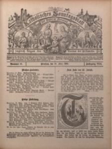 Katholisches Sonntagsblatt der Diöcese Breslau, 1902, Jg. 8, nr 11