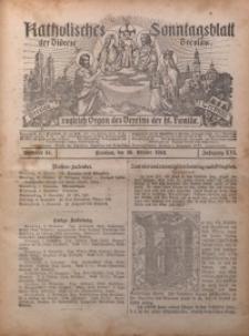Katholisches Sonntagsblatt der Diöcese Breslau, 1910, Jg. 16, nr 44