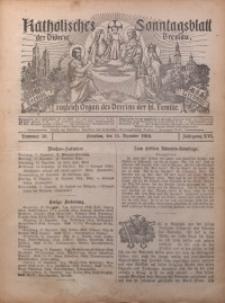 Katholisches Sonntagsblatt der Diöcese Breslau, 1910, Jg. 16, nr 50