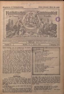 Katholisches Sonntagsblatt der Diöcese Breslau, 1925, Jg. 31, nr 2