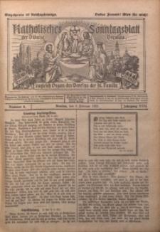 Katholisches Sonntagsblatt der Diöcese Breslau, 1925, Jg. 31, nr 6