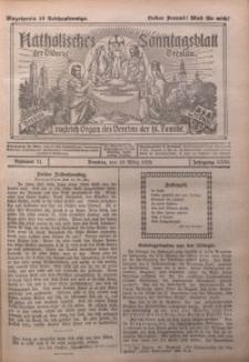 Katholisches Sonntagsblatt der Diöcese Breslau, 1925, Jg. 31, nr 11