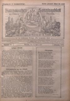Katholisches Sonntagsblatt der Diöcese Breslau, 1925, Jg. 31, nr 15