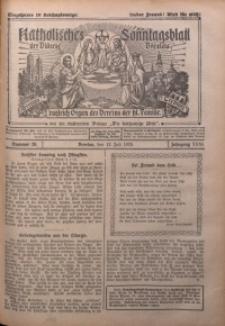 Katholisches Sonntagsblatt der Diöcese Breslau, 1925, Jg. 31, nr 28