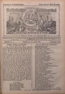 Katholisches Sonntagsblatt der Diöcese Breslau, 1925, Jg. 31, nr 34