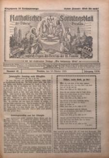 Katholisches Sonntagsblatt der Diöcese Breslau, 1925, Jg. 31, nr 42