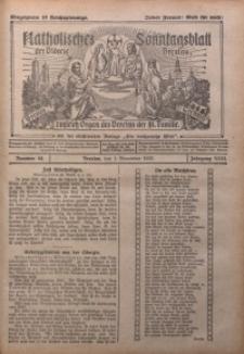 Katholisches Sonntagsblatt der Diöcese Breslau, 1925, Jg. 31, nr 44