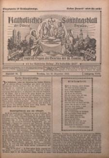 Katholisches Sonntagsblatt der Diöcese Breslau, 1925, Jg. 31, nr 51