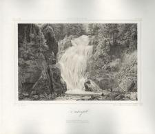 Zackenfall. Wodospad Kamieńczyka