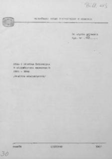Stan i ochrona środowiska w województwie krakowskim 1981-1986 (Analiza statystyczna)