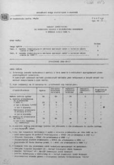 Nakłady inwestycyjne na ważniejsze zadania w województwie krakowskim w okresie styczeń-sierpień 1986 r.