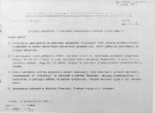 Sprzedaż eksportowa w wybranych jednostkach w okresie I-VIII 1986 r.