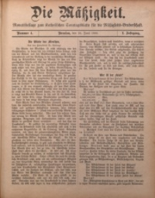 Die Mätzigkeit, 1900, Jg. 1, nr 4