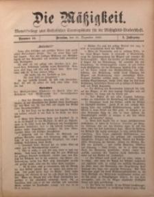 Die Mätzigkeit, 1900, Jg. 1, nr 10