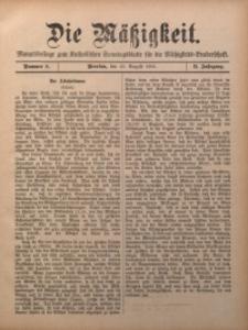 Die Mätzigkeit, 1901, Jg. 2, nr 8
