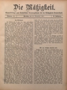Die Mätzigkeit, 1901, Jg. 2, nr 11