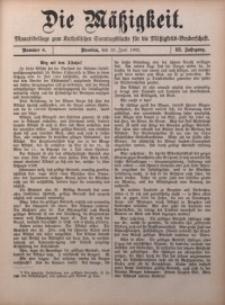 Die Mätzigkeit, 1902, Jg. 3, nr 6