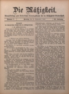 Die Mätzigkeit, 1902, Jg. 3, nr 9