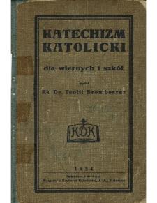 Katechizm katolicki dla wiernych i szkół