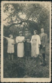 Brzeżany. Zdjęcie rodziny Łopuszańskich.