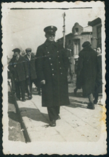 Podhajce. Żołnierz w polskim mundurze, 1938 r.